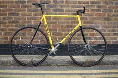 Wiz Khalifa's Bumblebee Bikes - London Fixed-gear and Single-speed