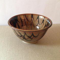 Vintage pottery bowl with stunning glaze - potter unknown - Australian Pottery - onlygoodvintage Brutalist Design, Australian Vintage, Pottery Bowls, Vintage Pottery, Contemporary Jewellery, Vintage Buttons, Glaze, Vintage Jewelry, Tableware
