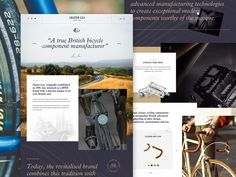 Chater Lea   Unselected Concept by Joel Maynard One Page Website, Show And Tell, Ui Ux, Follow Me On Instagram, Concept