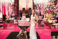Festa de 15 anos de Giovanna Pompei: decoração inspirada na Victoria's Secret - Constance Zahn | 15 anos