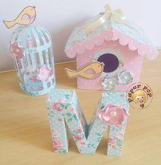 Diy And Crafts, Crafts For Kids, Paper Crafts, Bird Party, Baby Shawer, Bird Theme, Ideas Para Fiestas, Ivana, Design Crafts