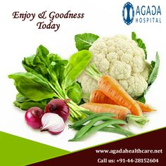 Today for dinner, fill half of your plate with these veggies to fill you up faster & increase your #fiber intake! It's called the #Diabetes Plate Method.  For more information: www.agadahealthcare.net Make an appointment: +91-44-28152604