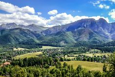 Polish Tatra Mountains - Detailed Guide - Bidroom: Travel Smarter. Polish Mountains, Long Valley, Tatra Mountains, Gypsy Living, Tri Cities, Rare Plants, Most Beautiful Cities, Krakow, Natural Wonders