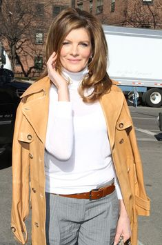 9c732a6010d3 Rene Russo in Celebrities Attending Michael Kors Show At New York Fashion  Week