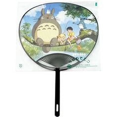 Etoile Japanese Fan Totoro, Satsuki and Mei (Uchiwa) 5 dollaria. Japanese Grocery, My Neighbor Totoro, Kawaii Cute, Studio Ghibli, All Art, Art Forms, Hand Fans, Illustration, Aesthetics