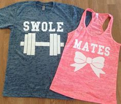 Free/Fast Shipping for US Swole Mates Burn Out by DsWishingWell