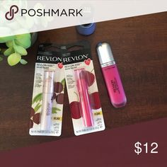 💗🌷Spring beauty bundle 💖💞 🌷💖Revlon spring beauty bundle .. two kiss balms in coconut and cherry .. matte lip color in spark and new nail shade called irresistible 💞🦋 All new Makeup