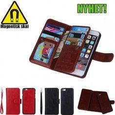Magnetisk Mobilplånbok 2i1 till Samsung Galaxy S6 9f5c127663c42