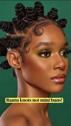 Bantu Knot Hairstyles, Lemonade Braids Hairstyles, Braids Hairstyles Pictures, Black Girl Braided Hairstyles, Natural Afro Hairstyles, African Braids Hairstyles, Protective Hairstyles, Black Women Hairstyles, Long Natural Hair