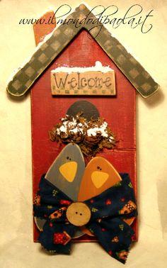 """L'inverno tarda ad arrivare ... vediamo se si convincerà con questo """"Welcome"""" fatto apposta per lui .. !!!"""