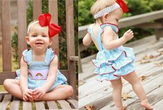 Southern Tots Rainbow Ruffle Bottom Bubble at www.facebook.com/Southerntots