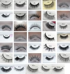 50 sets wholesale Handmade human hair false eye lashes , luxury mink eye lashes , Great additional to your beauty business or simply start new eye lash business:)This order will come with a random mix of styles according to stock, 50 pairs total in retail packages ready to resell., Type: Full Strip Lashes Length: 0.5cm-1cm Craft: Hand Made Style: mix popular styles Material: Human Hair /mink lashes eyelashes: makeup bea...