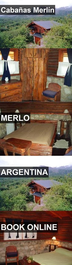 Hotel Cabañas Merlín in Merlo, Argentina. For more information, photos, reviews and best prices please follow the link. #Argentina #Merlo #CabañasMerlín #hotel #travel #vacation