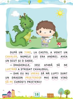 Romanian Language, Preschool At Home, Kids Education, Kids And Parenting, Baby Love, Kids Learning, Crafts For Kids, Classroom, Dragons
