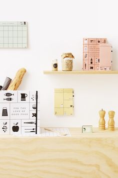 Plan your meals and organise your kitchen with the gorgeous Love Food stationery collection