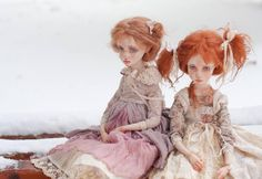 Art dolls by Helena Oplakanska