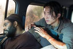 Sonequa Martin-Green | Walking Dead' Tyreese Dies Sasha Sonequa Martin-Green Interview - The ...