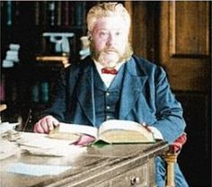 Charles Haddon Spurgeon, a Strict Baptist preacher of England in the 1800s. One of my all-time favorite men for his service to orphans and because he humbly and courageously shared scriptural truth in his day. He has been a great help to me.