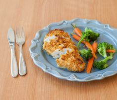 All the mouth-watering taste of fried chicken, without the added fat!