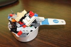 "April's LEGO Monthly Mission from Outside the Brick - ""The 1-cup Challenge"""