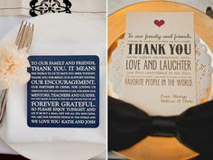 25 Ways to Give Thanks at Your Wedding | Wedding Planning, Ideas & Etiquette | Bridal Guide Magazine