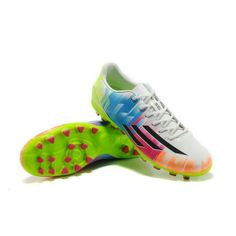 sale retailer d081d 9bef0 2014 World Cup Adidas Adizero TRX AG Messi Cleats - Prism Colorful  Electricity