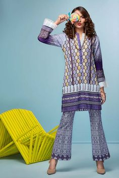 Gul Ahmed Cambric Collection 2018 Gul Ahmed introduces the Cambric Collection 2018 and searching forward to Pre-booking of this beautiful garments. Dress For You, New Dress, New Designer Dresses, New Day, Catalog, Cover Up, Stylish, Fall, Beautiful