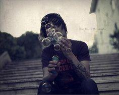 Heh, the bubbles are kind of an inside joke but still. :3