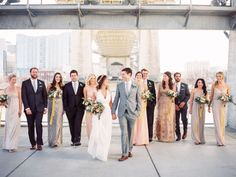 Organic, Industrial Nashville River Wedding: Paige + Jon Mark | Green Wedding Shoes Wedding Blog | Wedding Trends for Stylish + Creative Brides