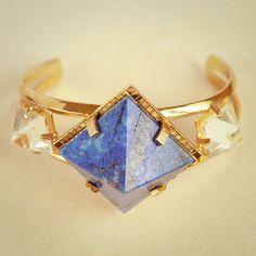 Lapis Lazuli Cuff by Unearthen
