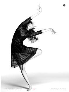 Model: Olga Kurylenko Hair: Nicolas Eldin Makeup: Lili Choi Stylist: Cécile Martin Photographers: Driu & Tiago Magazine: i-mad by Madame Figaro Issue: #21 — with Lovely Princess Heart and Ronnie Parr.