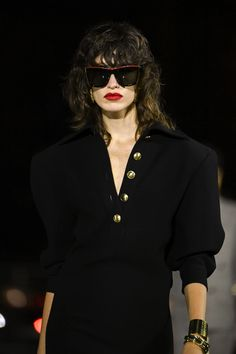 Saint Laurent SS22 Was All About Statement After-Dark Accessories | British Vogue After Dark, Fashion Pictures, Saint Laurent, Vogue, Sunglasses, Accessories, Yves Saint Laurent, Sunnies, Shades