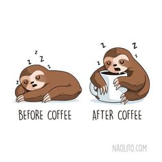 Relatable Illustrations Of Cute Animals In Hilarious Before And After Situations We can't stop laughing at these funny comics which actually remind us of our lives. comics funny comics before and after animal illustrations funny illustrations Illustration Mignonne, Funny Illustration, Animal Illustrations, Funny Celebrity Memes, Funny Memes, Cat Memes, Jokes, Sarcastic Memes, Cute Puns