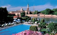 Hotel Cipriani in Venice.  I'll be staying there!  So excited.  This Hotel is one of the nicest in the world!