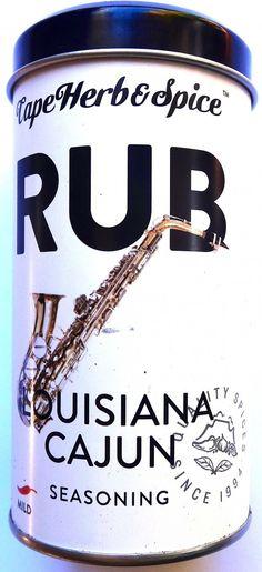 Cape Herb and Spice Louisiana Cajun Rub. #Satooz #SouthAfrica