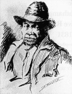 Nat Turner was a black preacher who led an 1831 uprising in Southampton County, Virginia.  For his crime, he was hanged and skinned; November 11th, 1831.