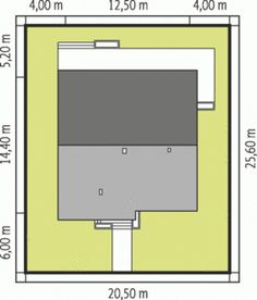 DOM.PL™ - Projekt domu AC Bob CE - DOM AE9-17 - gotowy koszt budowy Lampang, Home Design Plans, Ideal Home, House Plans, House Design, How To Plan, Cottages, Inspiration, Furniture