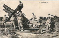 Camp de Mailly  - Obusier de 220