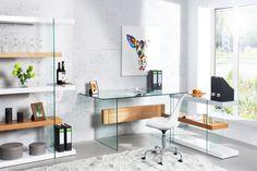 Písací stôl ONYX GLASS