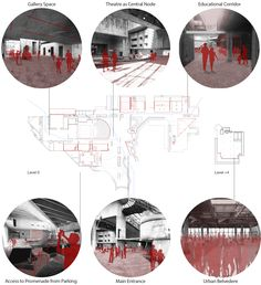 HHF Architects set to complete abandoned socialist monument - Dom Revolucije refurb by HHF Architects and SADAR+VUGA - Site Analysis Architecture, Architecture Design Concept, Architecture Mapping, Architecture Presentation Board, Architecture Panel, Architecture Graphics, Architecture Drawings, Architecture Portfolio, Architecture Diagrams