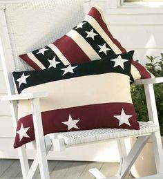 Love Americana pillows.