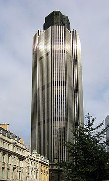 Natwest Tower. I was lucky enough to go to the top many years ago with my dad
