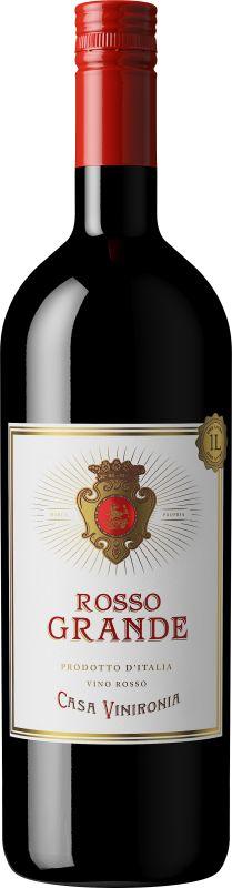 Casa Vinironia Rosso Grande - Viva vin o mat Chorizo, Red Wine, Alcoholic Drinks, Bottle, Glass, Drinkware, Alcoholic Beverages, Flask, Liquor