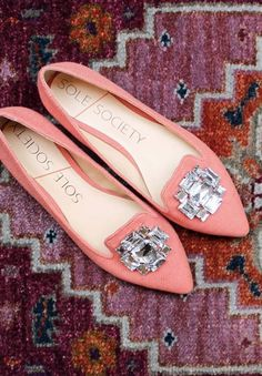 Bejewelled Flat | Sole Society