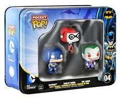 #Vinyl action figure dc comics toy #pocket pop #batman mini tin #batman harley jok,  View more on the LINK: http://www.zeppy.io/product/gb/2/172414082505/
