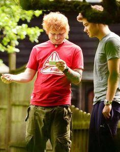 Ed and Liam. Ahhhh. Love