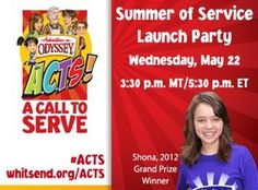 Summer service projects - and freebies for families