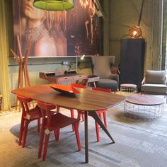 it was love at first sight Love At First Sight, Exhibitions, Dining Table, Display, Modern, Inspiration, Furniture, Home Decor, Floor Space