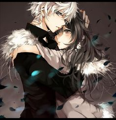 anime couple though it may be Oz Vessalius and Alice Baskerville from Pandora hearts