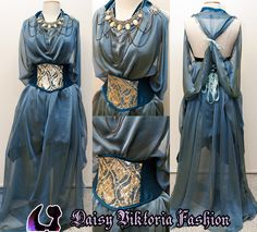 Daenerys Gown by DaisyViktoria on DeviantArt Fantasy Costumes, Cosplay Costumes, Game Of Thrones Cosplay, Fairytale Gown, Zeina, Fantasy Gowns, Fairy Clothes, Medieval Dress, Medieval Fantasy
